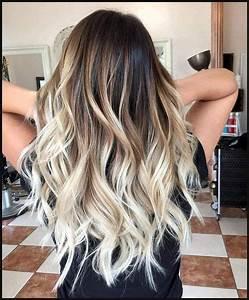 Balayage Blond Braun : 10 mittellange haarfarbe heaven beige braun blonde graue mischungen hair hair ~ Frokenaadalensverden.com Haus und Dekorationen
