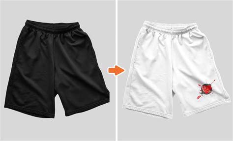 shorts template photoshop s shorts mockup templates pack