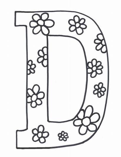 Letter Coloring Printable Alphabet Printables Letters Worksheets