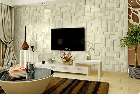 Contemporary Living Room Wallpaper by 3d Wallpaper For Living Room 15 Amazingly Realistic Ideas