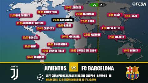 Cuándo y dónde ver el Juventus vs FC Barcelona