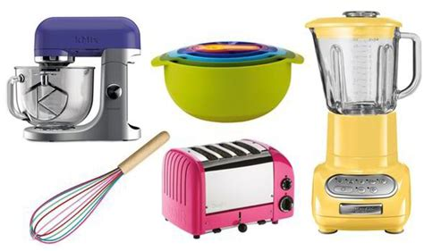 The Best Bold Colour Kitchen Accessories  Style  Life