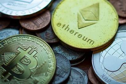 Coins Crypto Currency Bitcoin Tarnished Change Pocket
