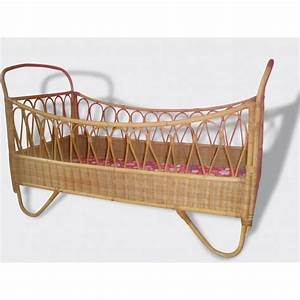 Lit Bébé Vintage : lit b b en rotin bambou vintage 1960 rattan rotin vintage en 2019 bed cribs et french baby ~ Dode.kayakingforconservation.com Idées de Décoration