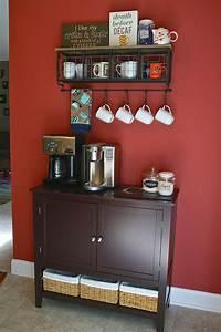 Oregon, Transplant, Home, Decor, Coffee, Bar