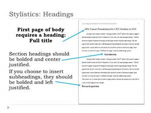 how to create an APA style outline   Most include APA references on its own  page
