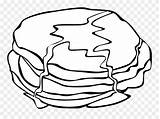 Pancake Breakfast Coloring Colouring Fried Cartoon Clipart Pinclipart Popular sketch template