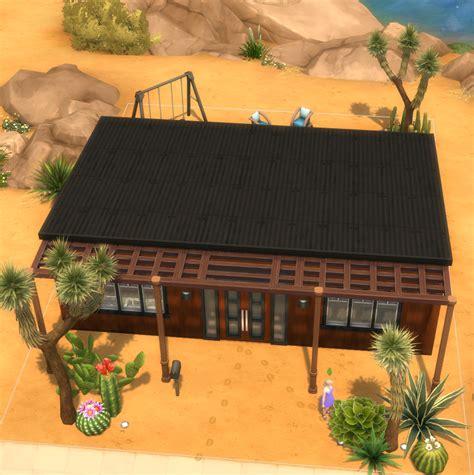 Casa com 4 quartos para família. Tiny Ranch Style House - icanhassims - a Sims 4 Gallery