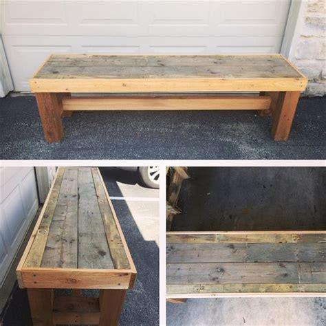 diy pallet bench pallet furniture plans