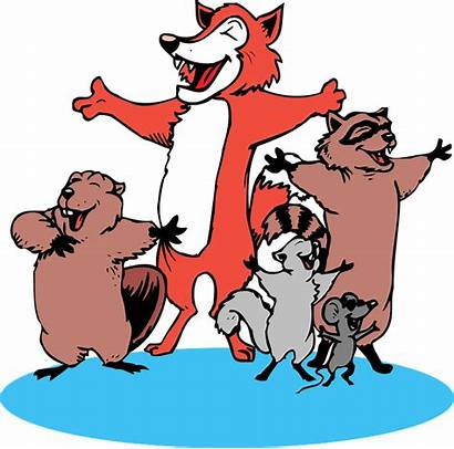 Singing Animals Choir Clipart Clip Mouse Singers