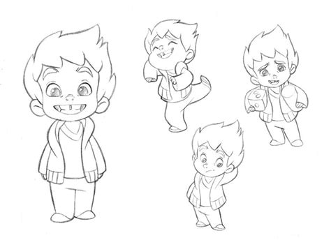 Pin on Character Sketches Children