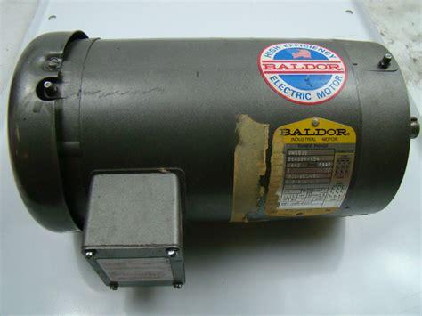 Baldor Electric Motors by Baldor 3hp Electric Motor 203 230 460v Ph3 184c Rpm 1725