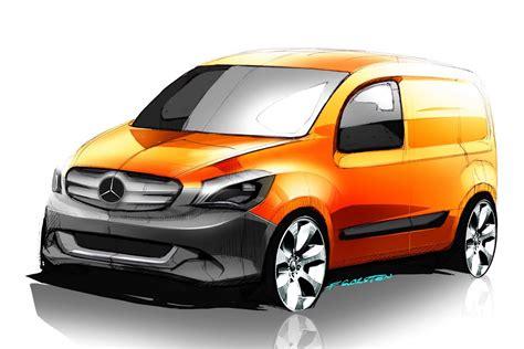 Mugav sõitjateruum kuni seitsmele inimesele. New Photos and Video of the 2013 Mercedes-Benz Citan Van Series | Carscoops