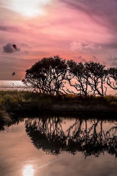 Outer Banks Obx Carolina North Wallpapers Kitesurfing