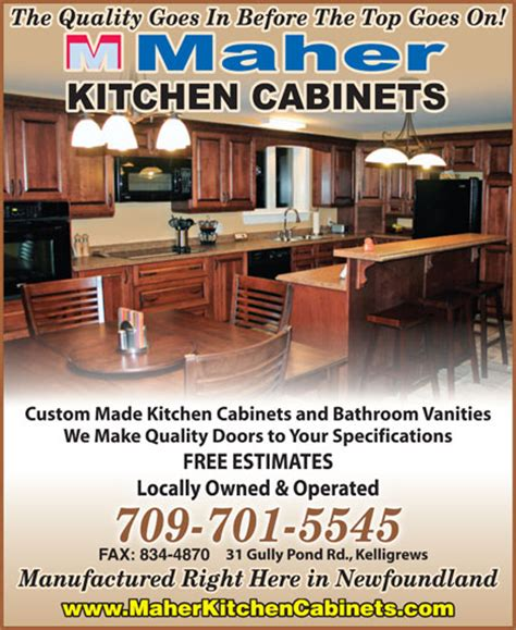brands of kitchen cabinets maher kitchen cabinets 31 gully pond rd conception bay 4870