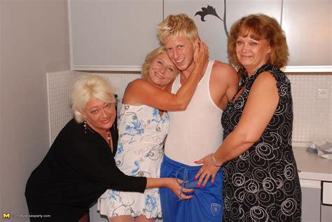 one lucky dude doing three naughty mature sluts