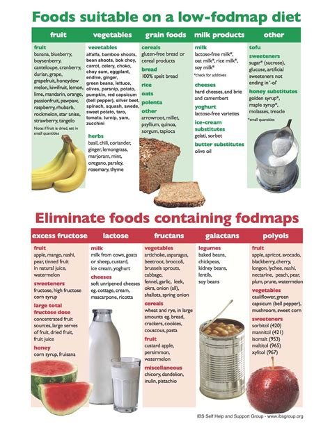 cuisine diet fodmap food chart the sibo specific diet sibo diet