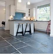 Delectable White Kitchen Cabinets Slate Floor Gallery Slate Flooring Kitchen Flooring PHOTO GALLERY Beautiful Kitchens