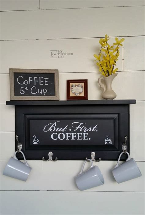 One thing that you may not know about me is that i have an obsession with mugs. 26 Best DIY Coffee Mug Holder Ideas and Projects for 2020