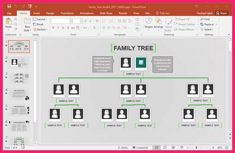 family tree template excel bio letter format