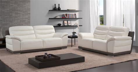 ensemble canape 3 et 2 places bormes salon 3 2 bicolore ou unicolore personnalisable sur