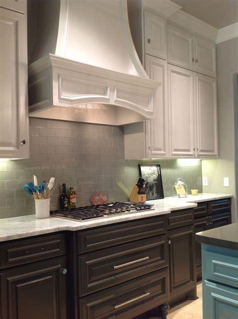 SW Repose Gray upper cabinets, SW Urbane Bronze lowers