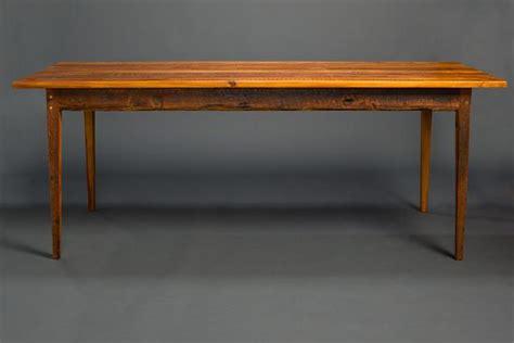 antique heart pine signature farm table landrum tables