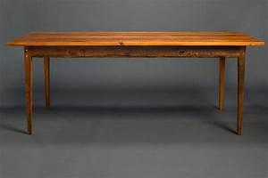 Antique Heart Pine Signature Farm Table  U2013 Landrum Tables