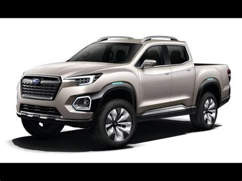 2019 Subaru Viziv Pickup Youtube