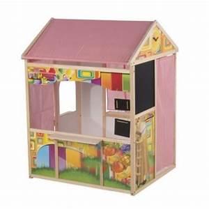 Cabane Pour Enfant Pas Cher : cabane de jeu pour enfant bois achat vente jeux et jouets pas chers ~ Melissatoandfro.com Idées de Décoration