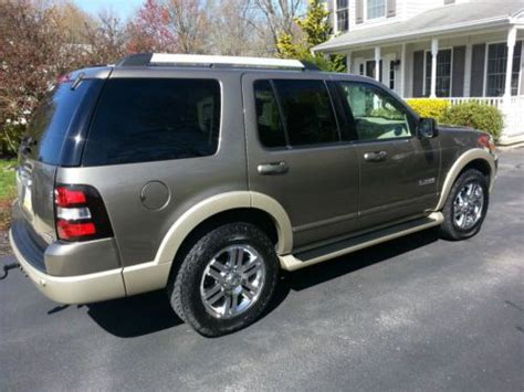 old car owners manuals 2006 ford explorer security system buy used 2006 ford explorer eddie bauer sport utility 4 door 4 0l in manchester pennsylvania