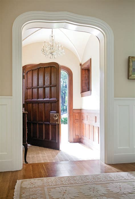 creating  period entryway period homes