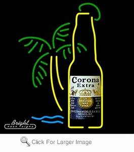 Neon Corona Extra Beer Sign with Palm Tree only $299 99
