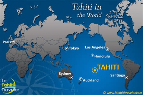 where is french polynesia the tahiti traveler