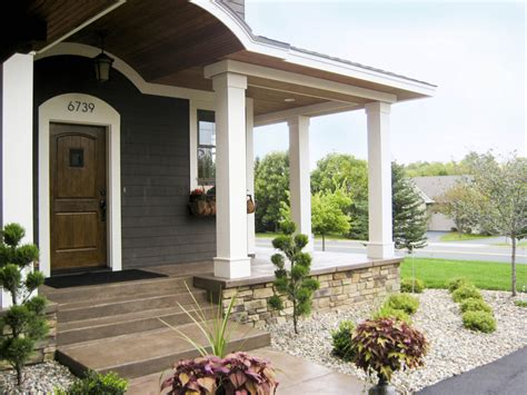 cement porch ideas concrete porch ideas exterior rustic with corten fireplace stained concrete beeyoutifullife com