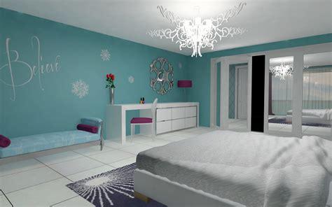 bedroom create  magically frozen bedroom ideas