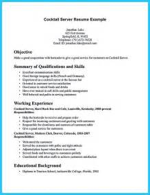 resume skills of a bartender 17 best ideas about resume objective on resume career objective objective for