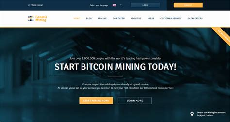 genesis cloud mining 10 profitable bitcoin cloud mining contracts and services