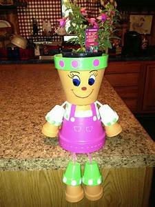 Flower Pot People Makes Your Garden Alive - HomeStyleDiary com