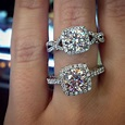 Halo engagement ring settings by Verragio # ...