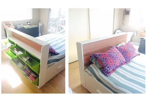 small bedroom storage 15 ikea storage hacks space savers for small bedrooms 13279