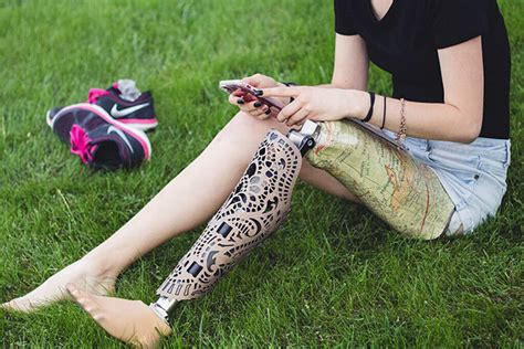 This Company Is Making Fashionable Leg Prosthetics And