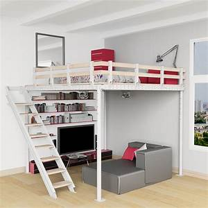 Mezzanine En Kit : diy loft bed kit expand furniture ~ Melissatoandfro.com Idées de Décoration