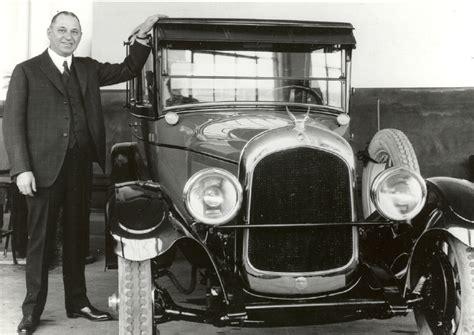 Walter P Chrysler by Chrysler S Bi Polar History Crashes 1 5