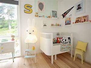 Deco Scandinave Chambre Bebe : petit lit deviendra grand joli place ~ Melissatoandfro.com Idées de Décoration