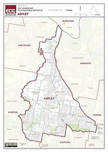 File Map Of The Electoral District Of Aspley  2017 Pdf