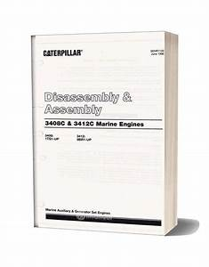 Caterpillar 3412 Manual Disassembly Assembly