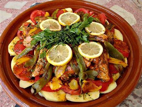 maroc cuisine moroccan fish tagine mqualli recipe