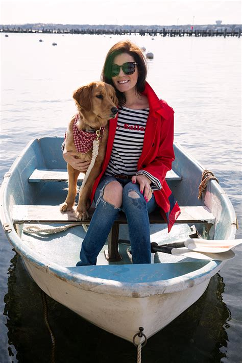 Nantucket Boat Basin T Shirts by Wear Pearls Woof Cottages