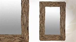 Miroir Bois Flotté : tr s grand miroir mural en bois flott ~ Teatrodelosmanantiales.com Idées de Décoration